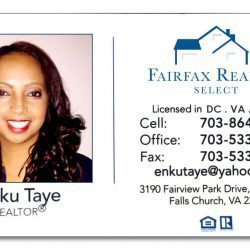 Enku Taye REALTOR in DC, VA and MD