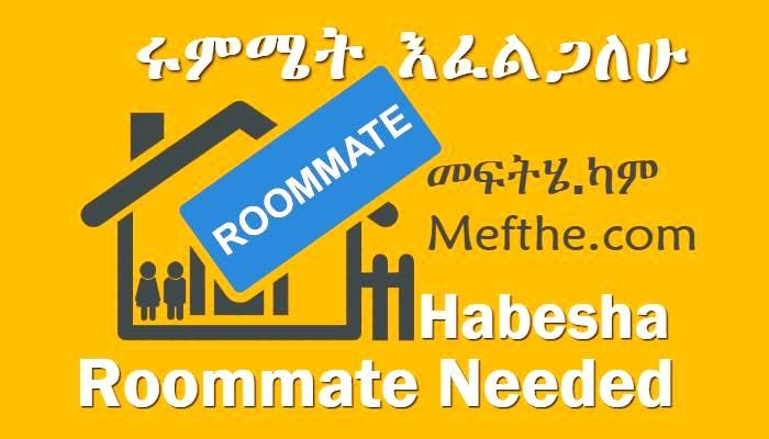 Habesha Roommate needed mefthe bet kiray