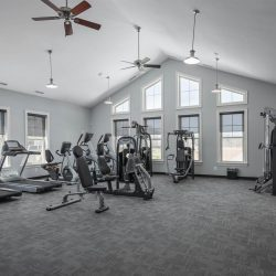 Townhomes gym